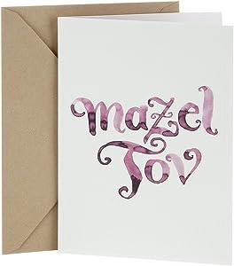 Hallmark Tree of Life Congratulations Card (Watercolor Mazel)