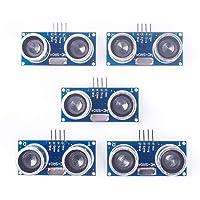 ANGEEK 5PCS HC-SR04 to world Ultrasonic Wave Detector Ranging Module for arduino Distance Sensor