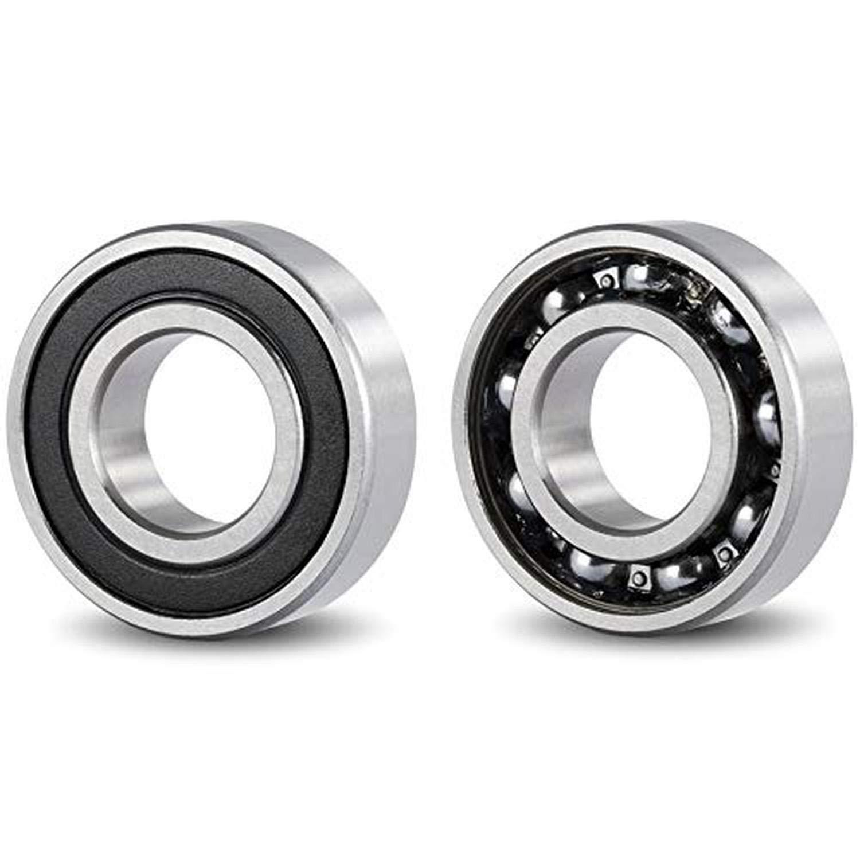 17mm 3D printer DIY. Bearings for: milling machine PACK 4 lathe 35mm width 10mm width bearings HIGH QUALITY Bearings 6003 2RS C3 Ball bearing for shaft DOJA Industrial