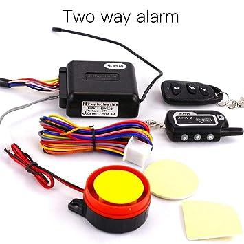 Dianhai Dispositivo antirrobo vehículos eléctricos de 12 V ...