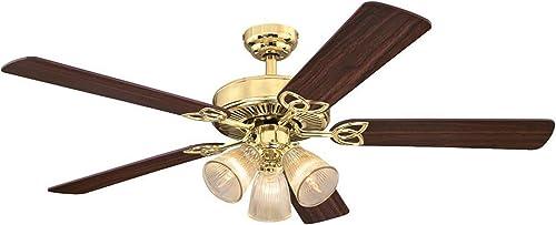Ciata Lighting 52 Inch Vintage Indoor Ceiling Fan