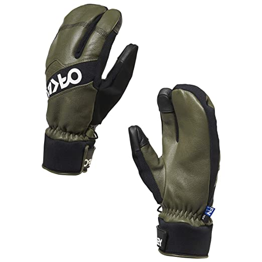 bf8bae37cef19 Amazon.com  Oakley Men s Factory Winter Trigger 2 Mitts  Clothing