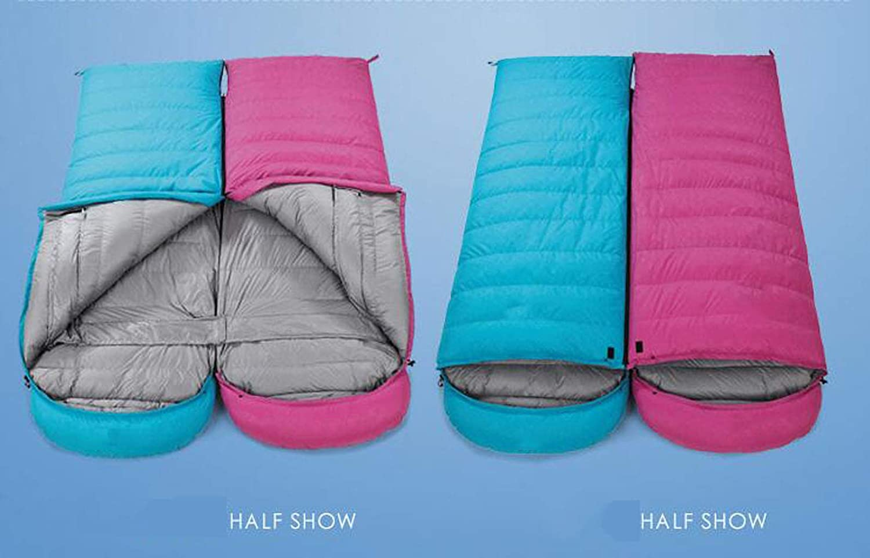 JSHFD Daunenschlafsack, Vier Jahreszeiten Erwachsener im im im Freien kampierender Umschlagschlafsack, doppelter Schlafsack B07N2DSPTQ Deckenschlafscke Feinbearbeitung 363612