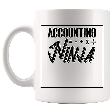Amazon.com: Taza de café contable para contabilidad, regalo ...