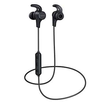 Audífonos inalámbricos, aukey auriculares Bluetooth con graves ...