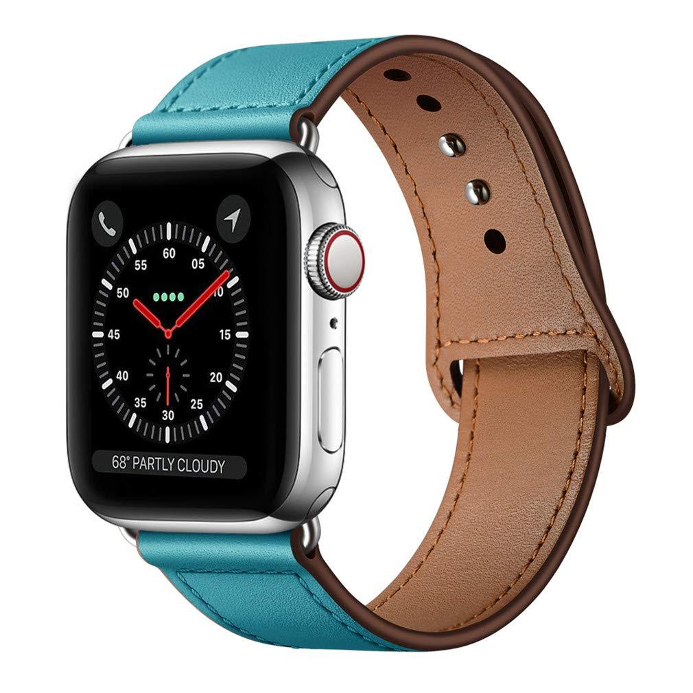 Malla Cuero para Apple Watch (42/44mm) KYISGOS [7QR81H5C]