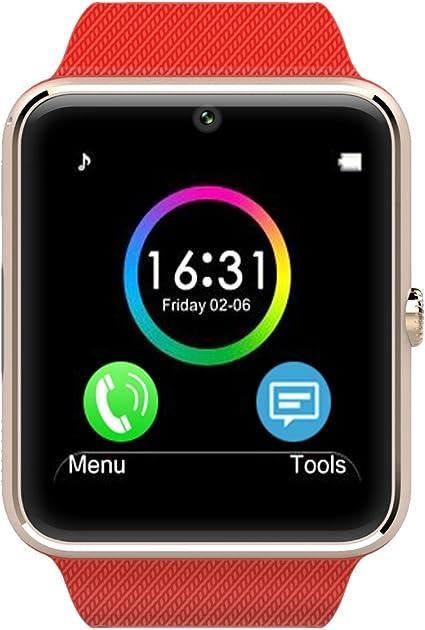 Amazon.com: LeFun One Bluetooth Phone Smart Watch Wrist ...