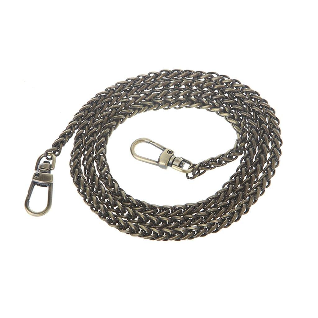 Manyo 1 St/ück Mode DIY Taschenkette 120cm Bronze Ideal f/ür Schultergurt Cross Body /& Handtasche /& Geldb/örse.