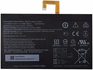 7XINbox 3.8V 7000mAh 26.6Wh L14D2P31 Laptop Battery for Lenovo Tab 2 A7600-F A10-70F Tab2 A10-70 A10-70L Tablet