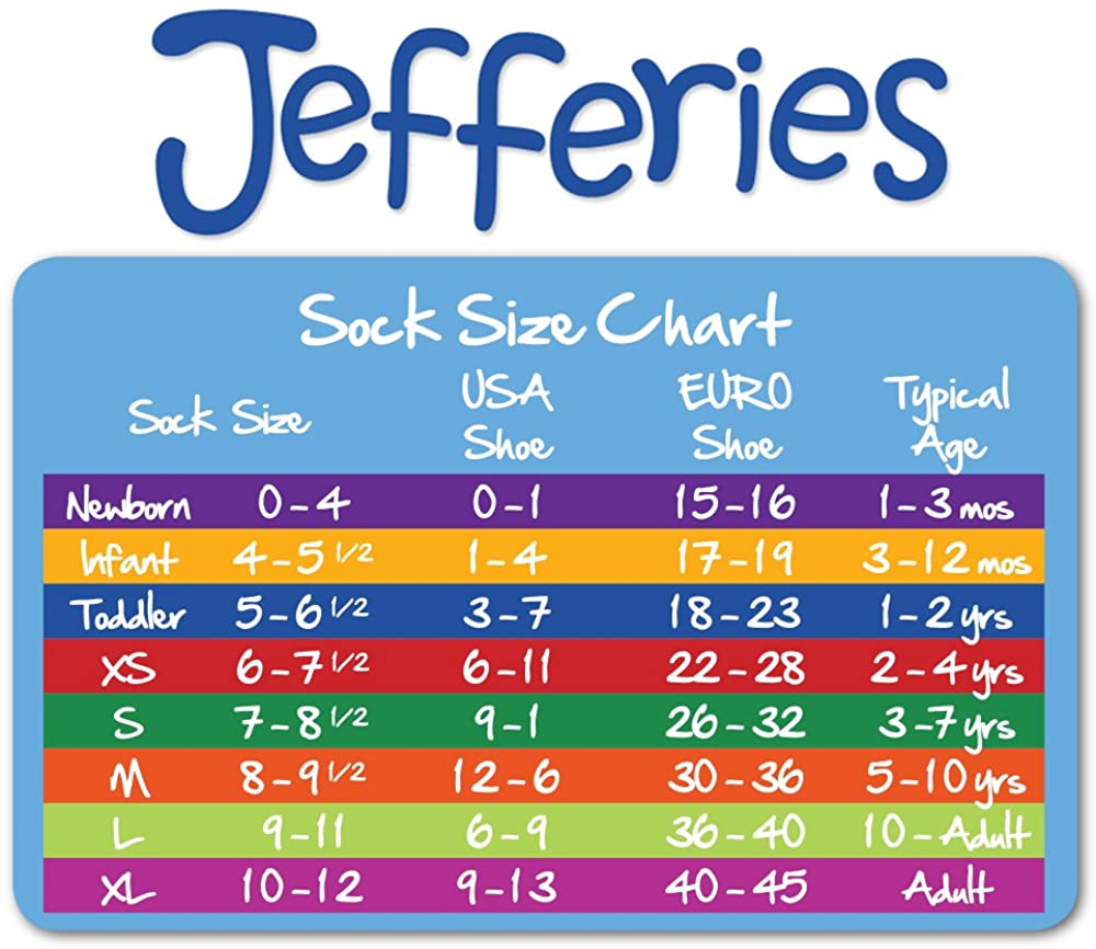 Jefferies Socks Big Boys Seamless-Toe Athletic Sock 6