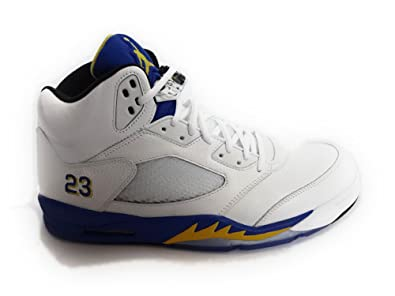 Air Jordan 5 Retro Laney 5s Mens size 15 White / Varsity