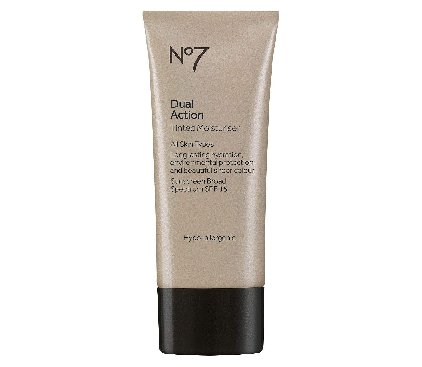 Boots No7 Dual Action Tinted Moisturiser Fair 1.6 ounce (SPF15) by Boots