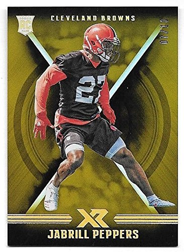 2017 Panini XR Gold Rookie #129 Jabrill Peppers #07/10 (07 Panini)