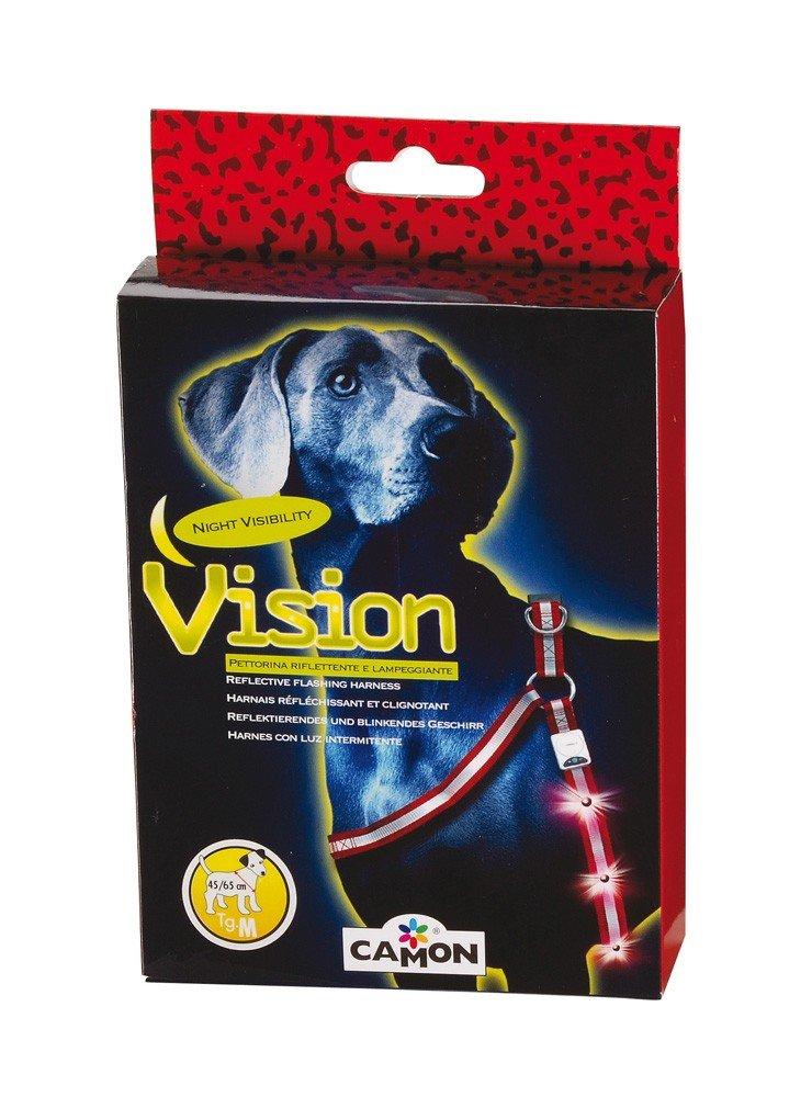 Camon – Arnés Ajustable Reflectante LED Intermitente Visibilidad ...