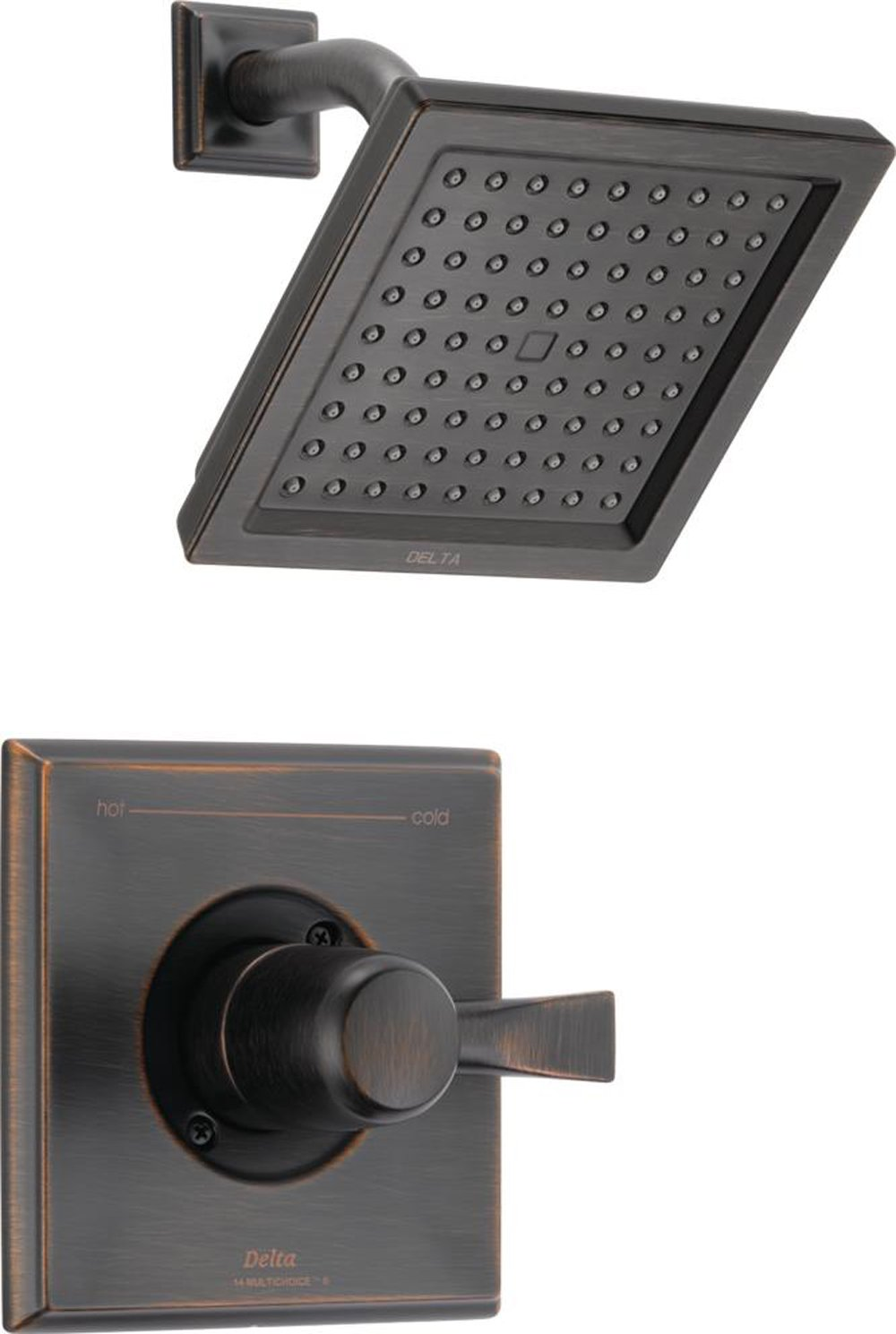 Delta Faucet T14251-RB Dryden Monitor 14 Series Shower Trim, Venetian Bronze