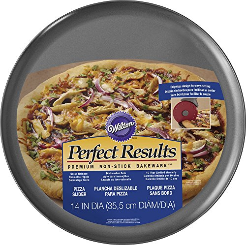 Wilton Perfect Results Pizza Pan, 14 (Non Stick Pizza Pan)
