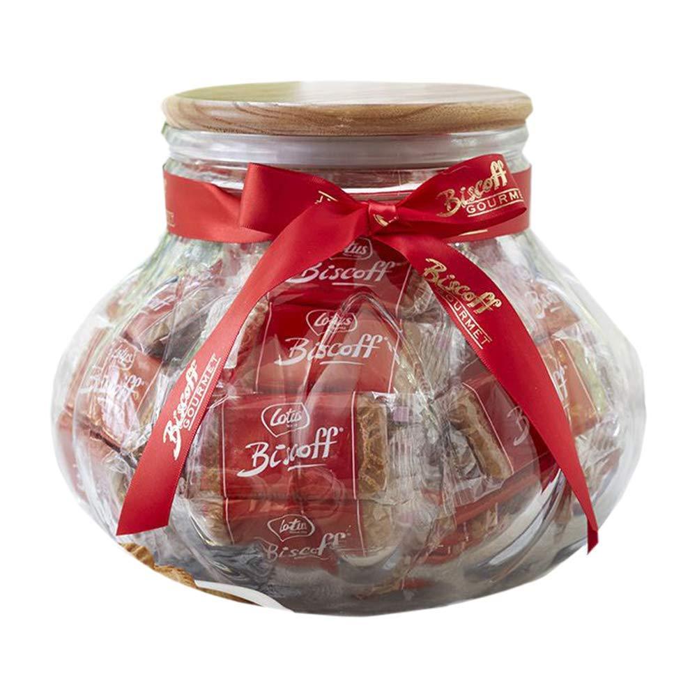 Biscoff Packed in a Mediterranean Glass Jar
