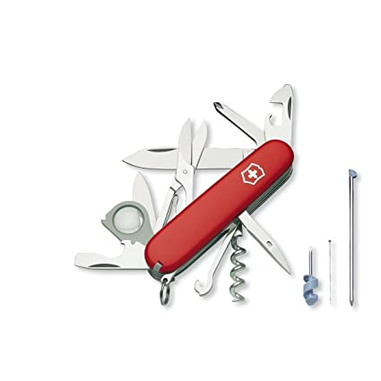 Amazon.com: Victorinox Swiss Army Explorer Plus – Navaja de ...