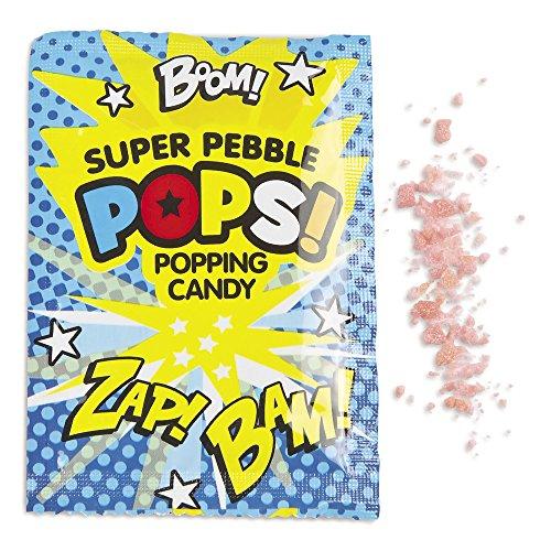 Superhero Popping Candy Fun Packs (36 (Super Hero Candy)
