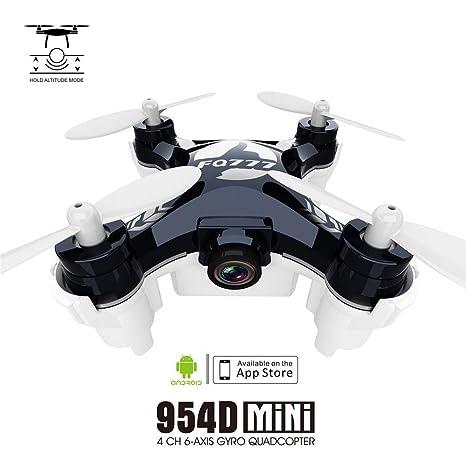 ZYSMC RC Mini Quadcopter Drone, MindKoo UFO Drone 2.4 G 4CH 4 Axis ...