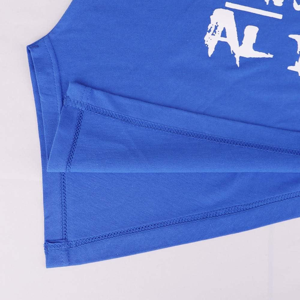 Bodybuilding Gym Tank Tops for Men 100/% Cotton Fitness Racerback and Beveled Hem Sleeveless Vests