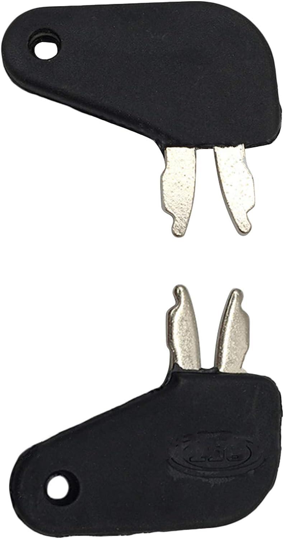 GAOHOU 7PCS Universal-Ersatzz/ündschalterschl/üssel 5P5800 787 8398 H800 166 D250 T209428 Z/ündschl/üsselsatz f/ür CAT Kalmar Dressta John Deere Bobcat Broce Daewoo Schweres Ger/ät