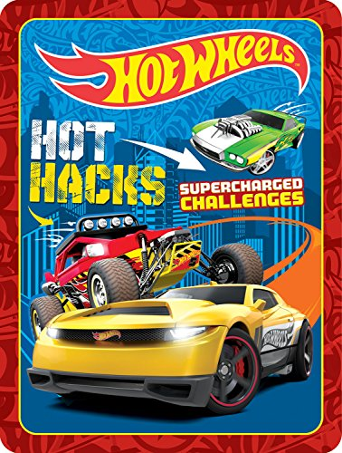 Hot Wheels Hot Hacks Supercharged Challenges (Mattel Gift Tin) - Mattel Supercharged