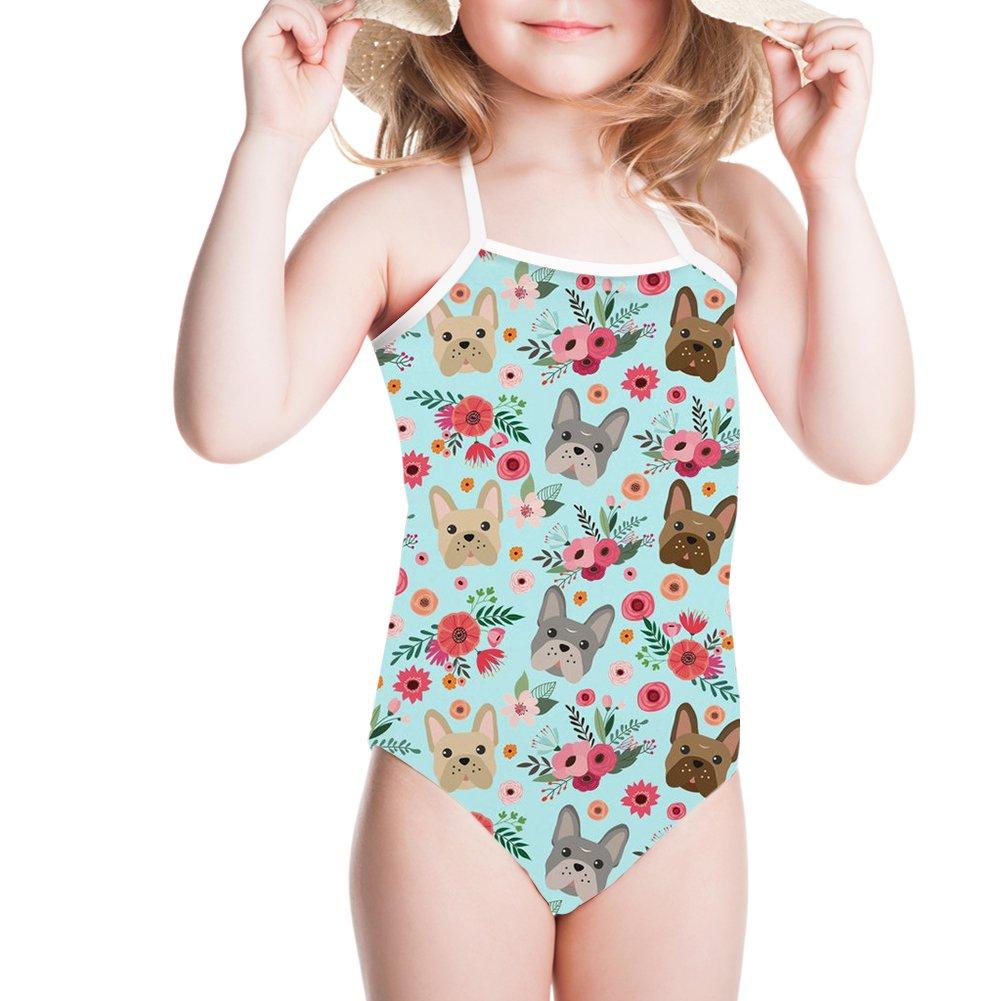 Sannovo Cute Animal Toddler Bikini Baby Bathing Suit Girl One Piece Swimsuit