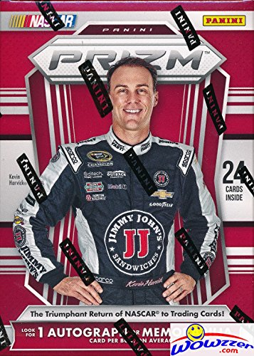 2016 Panini Prizm Nascar Racing EXCLUSIVE Factory Sealed Retail Box with AUTOGRAPH or MEMORABILIA Card! Look for Cards & Autographs from Dale Earnhardt, Danica Patrick, Jimmie Johnson & Many More! (Sealed Racing)