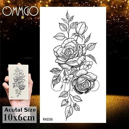 tzxdbh Atrapasueños Tatuajes de Acuarela Etiqueta engomada Pluma ...