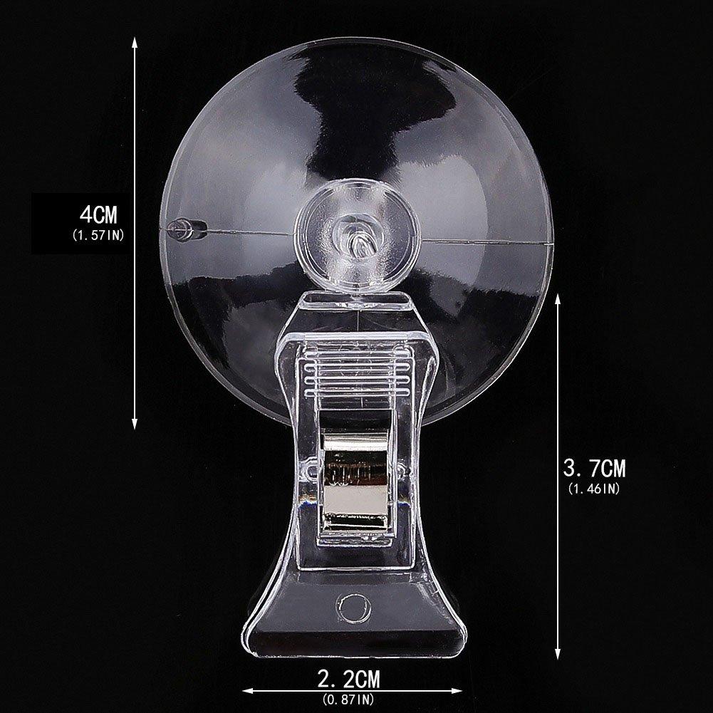 Draguimel 24 Stück 40 Mm Saugnapf Clip Werbung Pop Display