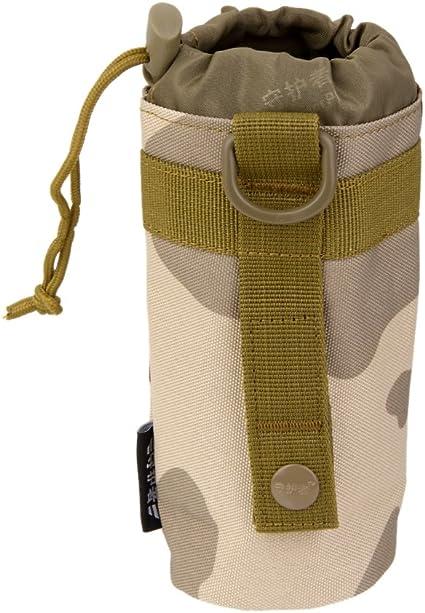 Pour camping Syst/ème Molle Porte-bouteille en nylon pour sac /à dos tactique