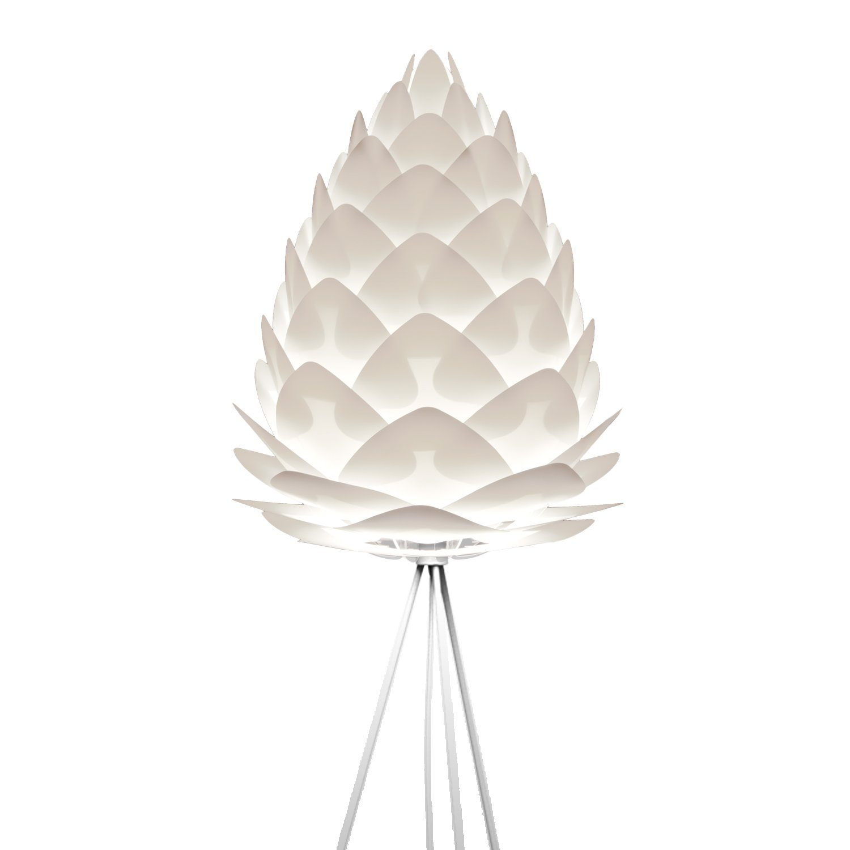 Umage VITA Conia Stehleuchte weiss D 45 cm incl.Tripod weiß und LED (A+) Lampe