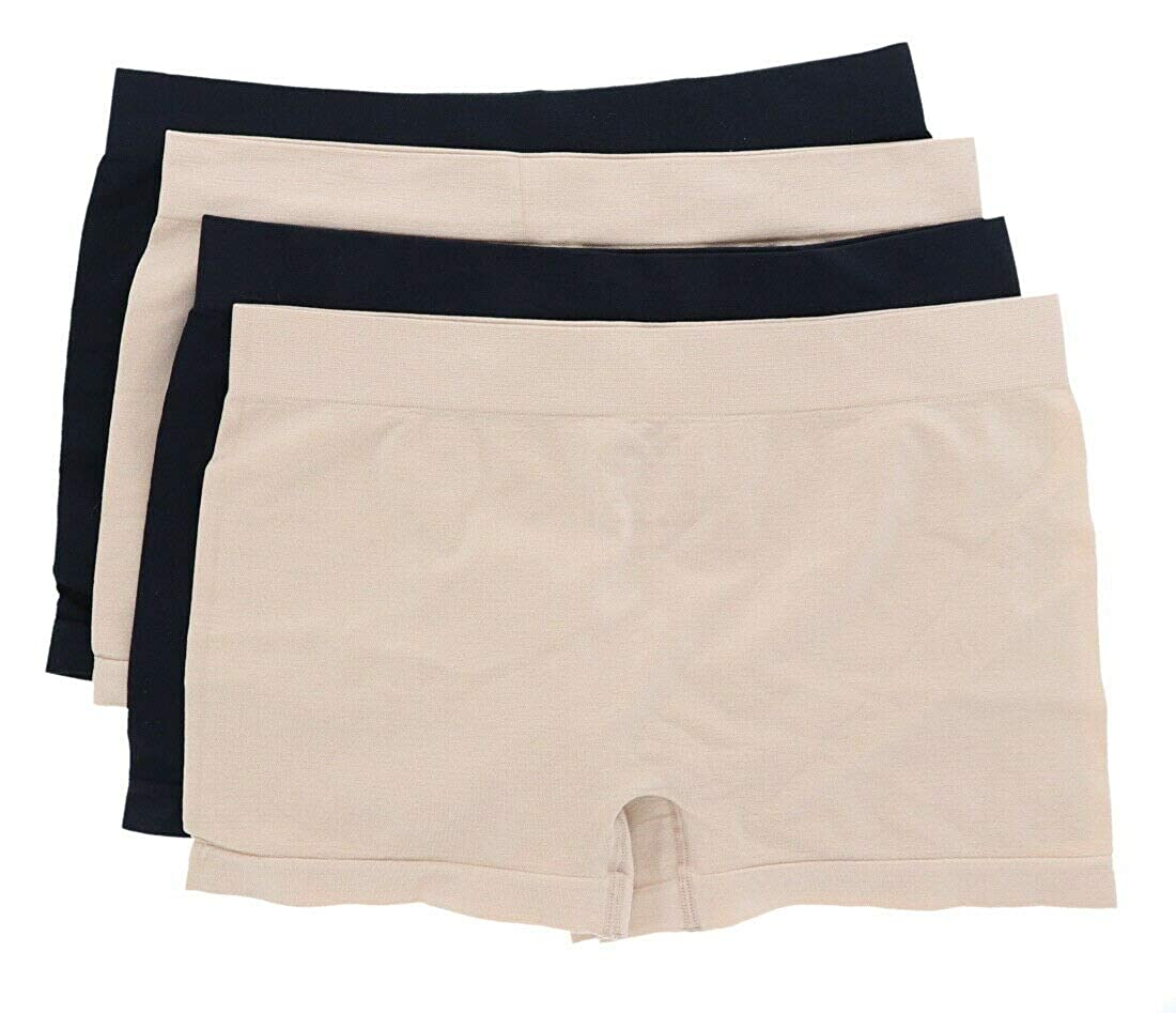 Breezies Seamless Boyshort Panties with Ultimair