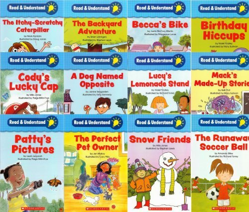 Scholastic Read and Understand Set of 12 Readers: Engaging, Easy-to-Read Storybooks With