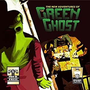 The New Adventures of the Green Ghost Audiobook
