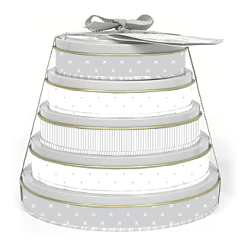 Child to Cherish Baby Handprint Tower of Time Kit, Grey by Child to Cherish