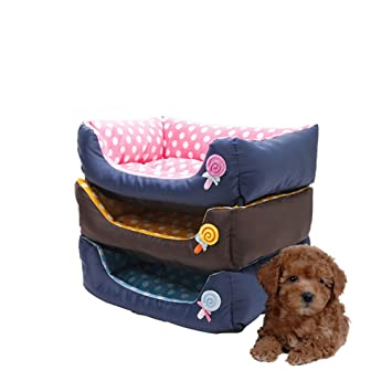 LA VIE - Colchón para mascota, cama para perro, suave, acogedor, sofá