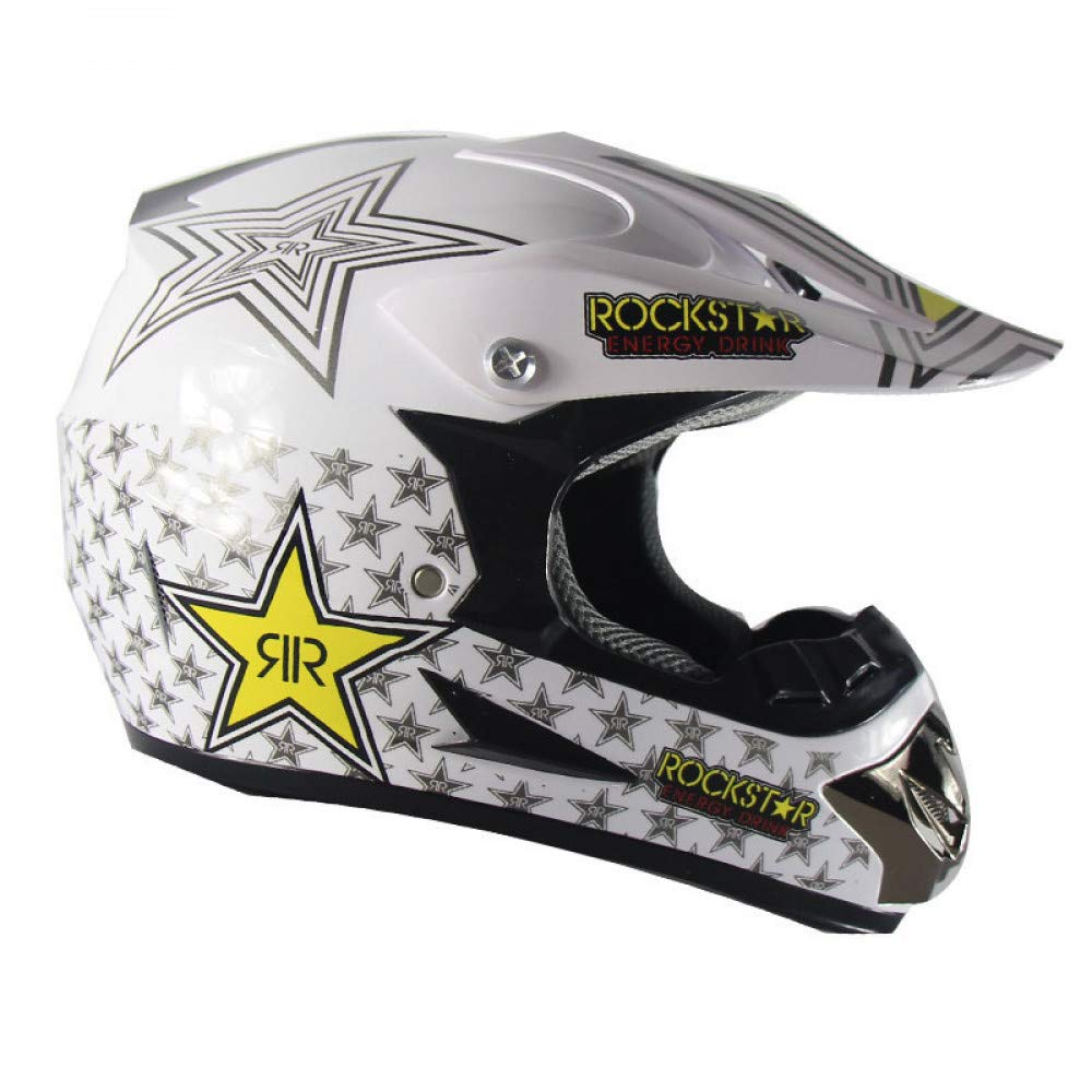LOLIVEVE Casco Di Sicurezza Per Motociclista Winter Road Racing Casco Casco Casco Da Equitazione Per Casco Cross Country Ghost Claw B07GVKFXJQ Small bianca five-star | Per Essere Altamente Lodato E Apprezzato Dal Pubblico Dei Consumatori