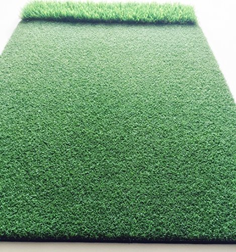 StrikeDown Dual-Turf Tour Golf Hitting Mat (48in x 36in) by Motivo Golf by Motivo Golf (Image #4)