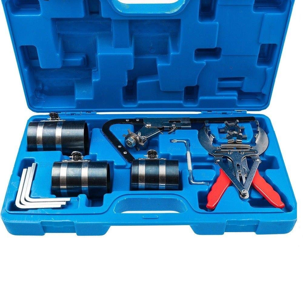 RANZIX Kolbenring Spannband Set Kolbenringspannband montar Kolbennutreiniger Werkzeg