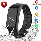 Foccoe Pulsera Inteligente Smartwatch,Pulsera Inteligentes Smart watch bluetooth Inteligente de Monitorización de la…