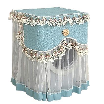 Amazon.com: LJNGG Cubierta para lavadora lavable frontal ...