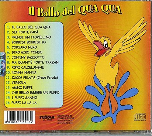 16 Canzoncine Vol2 Il Ballo Del Qua Qua Artisti Vari Amazonit