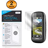 Garmin Montana 680t Screen Protector, BoxWave [ClearTouch Crystal (2-Pack)] HD Film Skin - Shields From Scratches for Garmin Montana 680t