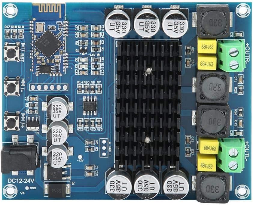 Amplificador de Potencia Bluetooth 4.0, 120WX2 TPA3116D2 Tablero Amplificador de Audio Digital Módulo de Sonido estéreo de Alta fidelidad AMP para Sistema de Audio Altavoces DIY