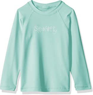 Seafolly Little Girls S//S Zip Front Rashie Swimsuit 56425T