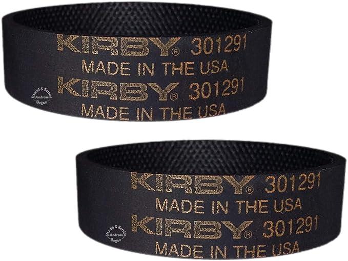 Riemen Belt 3 Stück 301291 Original Kirby Flachriemen Antriebsriemen