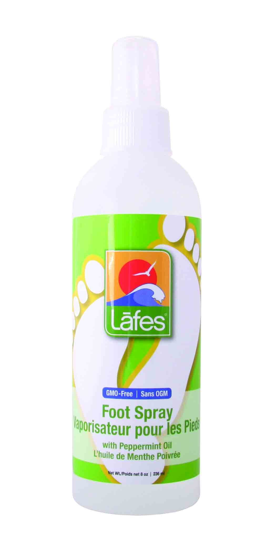 Lafe's Foot Spray, Peppermint, 8 Ounce