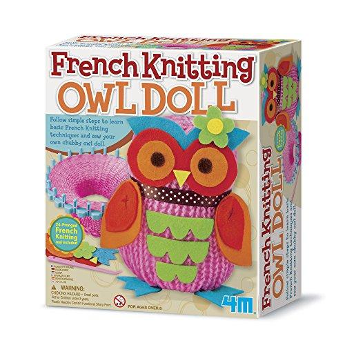 4M French Knitting Owl Doll